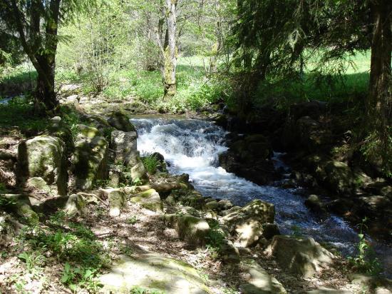 Le ruisseau Trifoulou