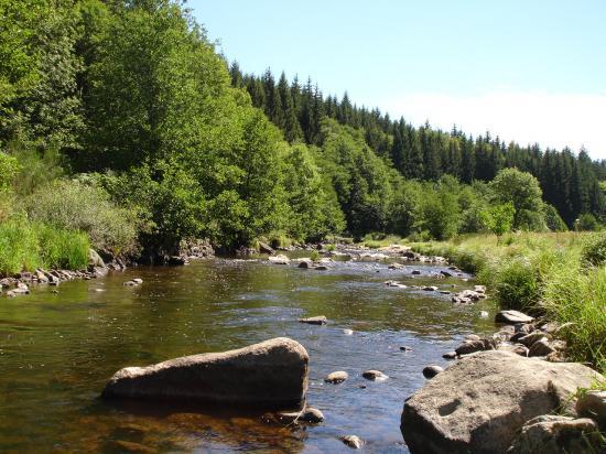 Pêche et baignades dans le Lignon