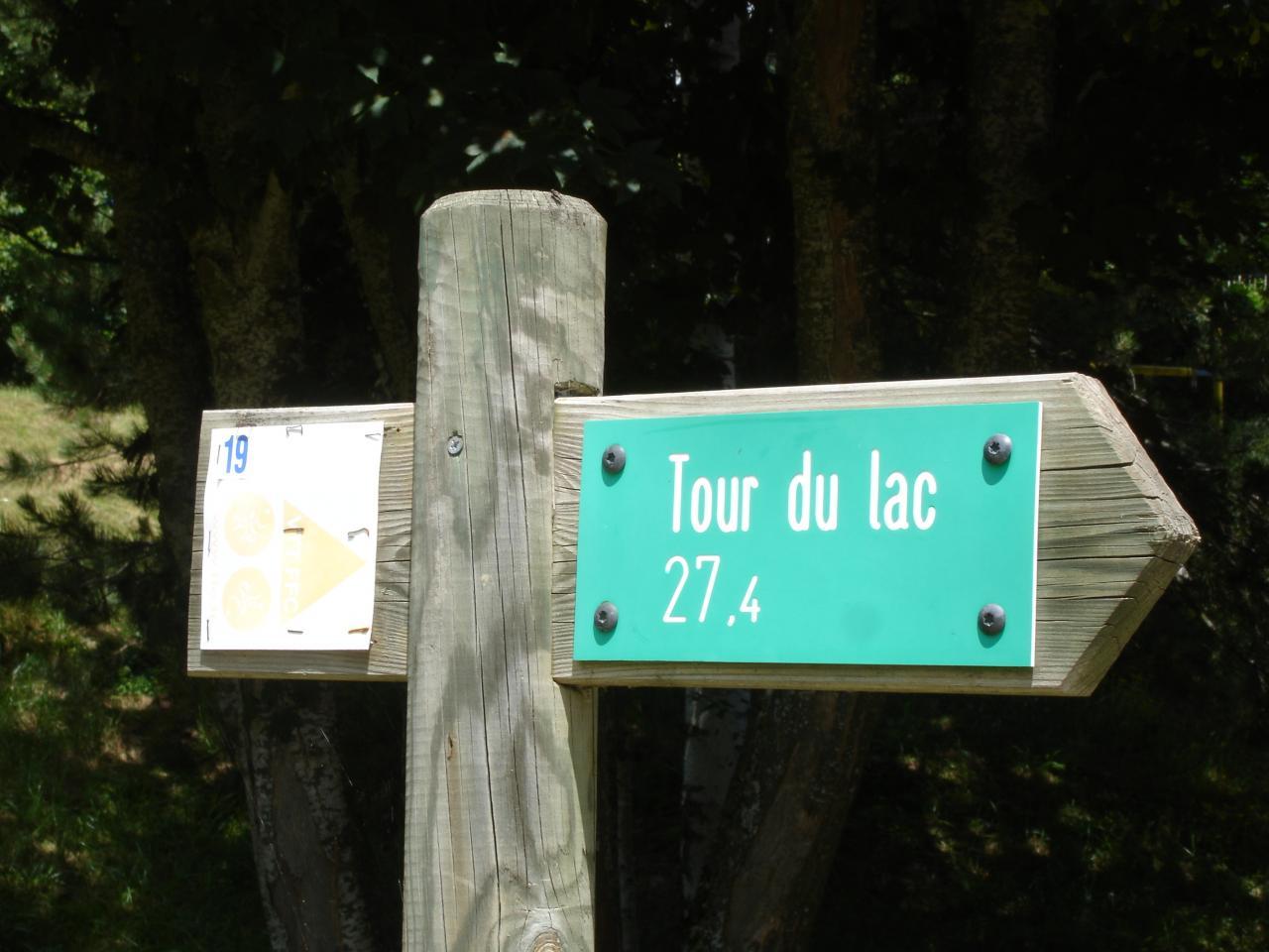 Sentier balisé VTT de 27 km