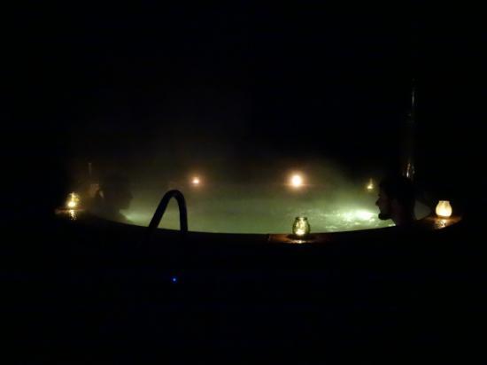 Bain Nordique en nocturne