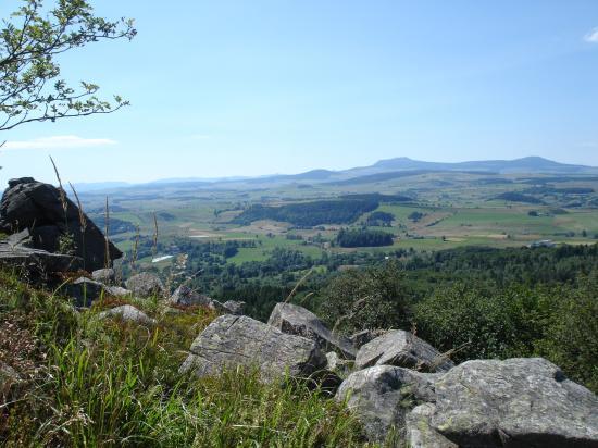 Dans le midi de l'Auvergne...