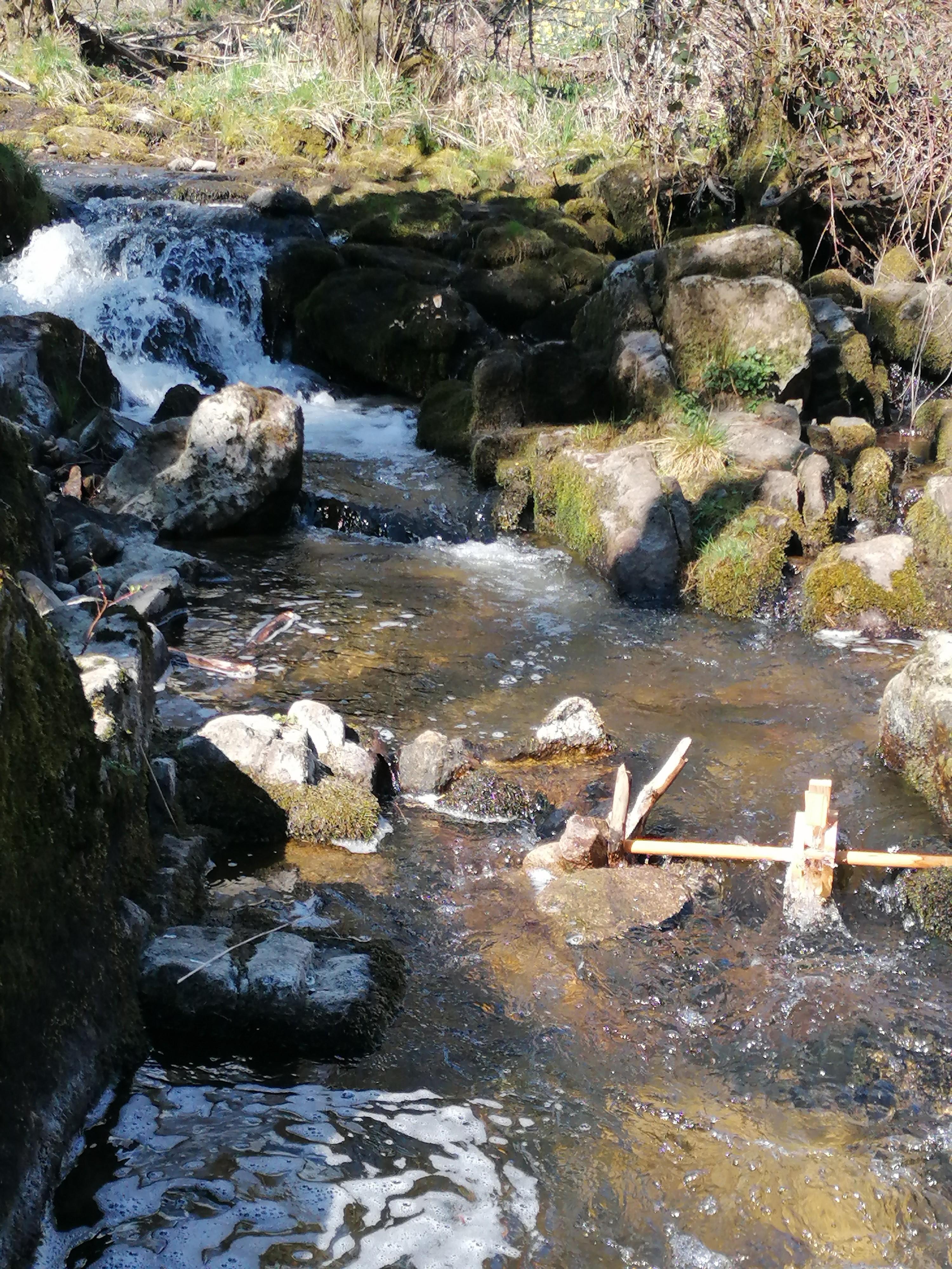 Le Trifoulou et sa cascade